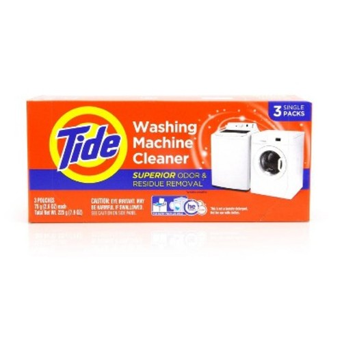 Tide Washing Machine Cleaner Pouches 3 Count