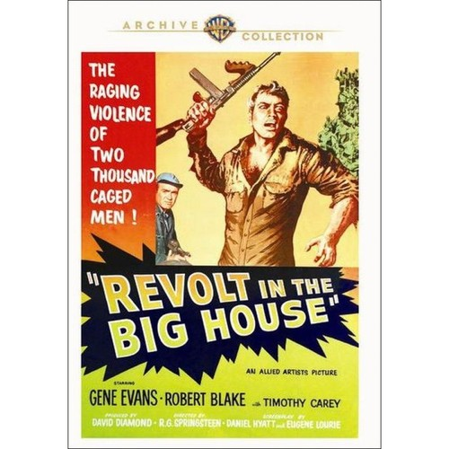 Revolt in the Big House [DVD] [1958]