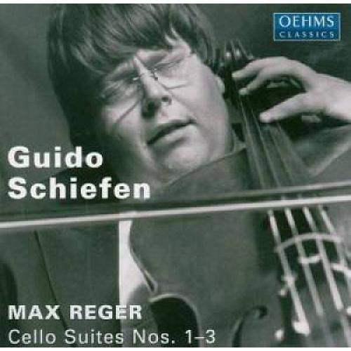 Max Reger: Cello Suites Nos. 1-3