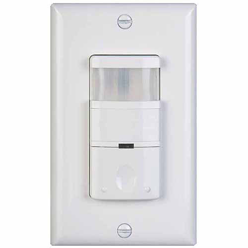 NICOR Lighting Occupancy/Motion Sensor with 180-Degree Field Of View, White (DOS180WH)