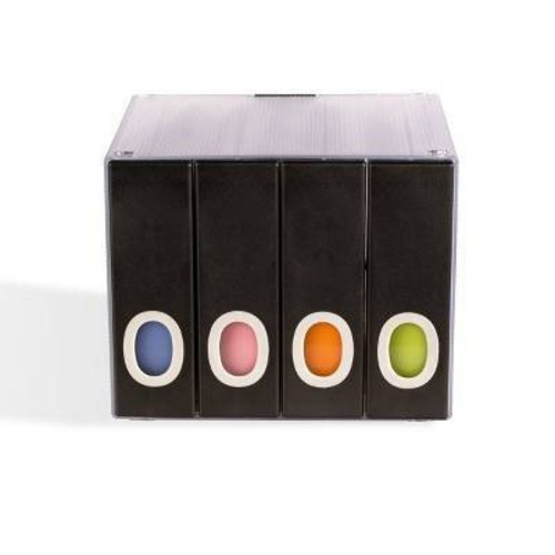 Atlantic 96635496 96-Disc Album Cube, Black