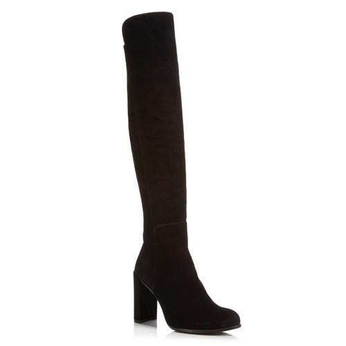 STUART WEITZMAN Women'S Woman'S Alljill Suede Over-The-Knee Boots