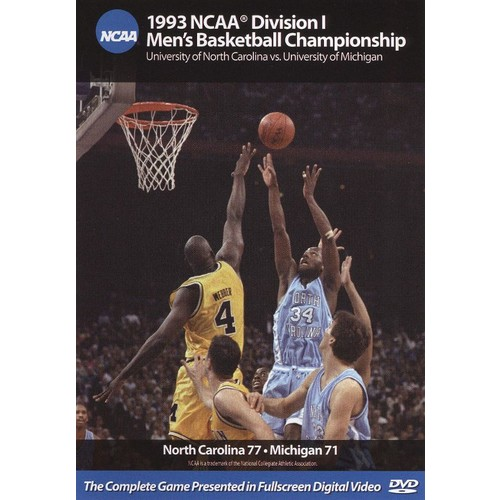 1993 NCAA Championship North Carolina vs. Michigan [DVD] [English]
