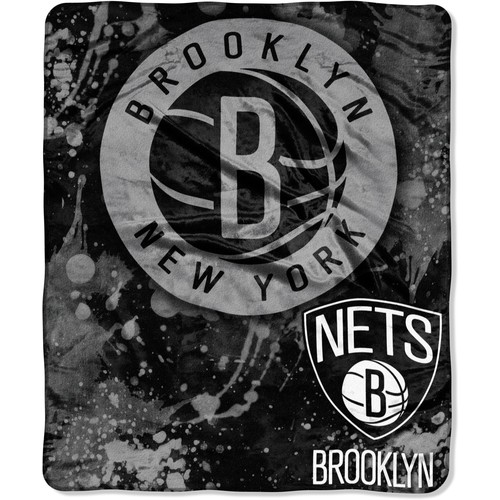 Northwest Brooklyn Nets Sherpa Throw