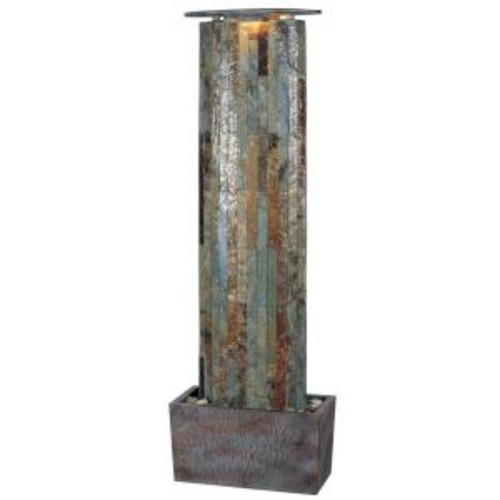 Kenroy Home 49 in. Waterwall Indoor/Outdoor Fountain
