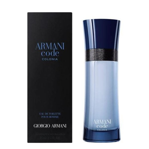 Giorgio Armani Code Colonia Men's 2.5-ounce Eau de Toilette Spray