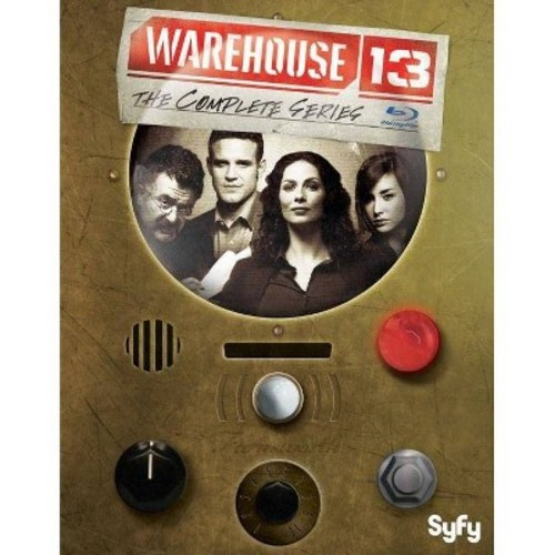 Warehouse 13: The Complete Series [Blu-ray] [15 Discs]