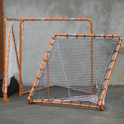 EZ Goal Folding 6' x 6' Lacrosse Goal and Rebounder