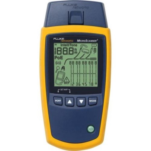 Fluke Networks MicroScanner2 Cable Verifier - RJ-45 10/100/1000Base-T Network