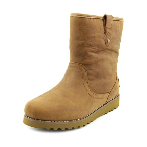 Ugg Australia Redwood Youth Round Toe Leather Winter Boot