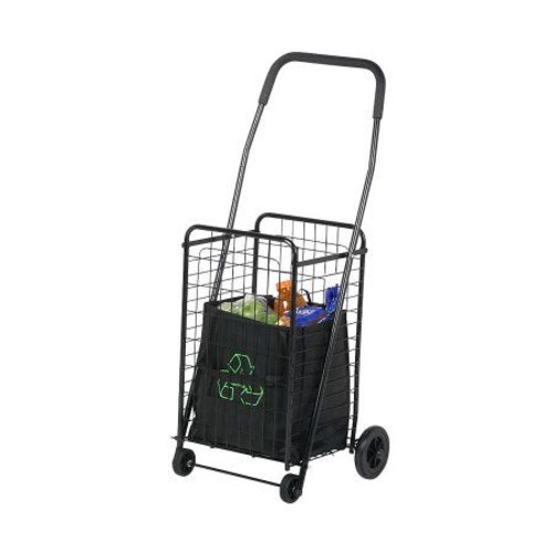 Honey-Can-Do All-Purpose Rolling Utility Cart -Black