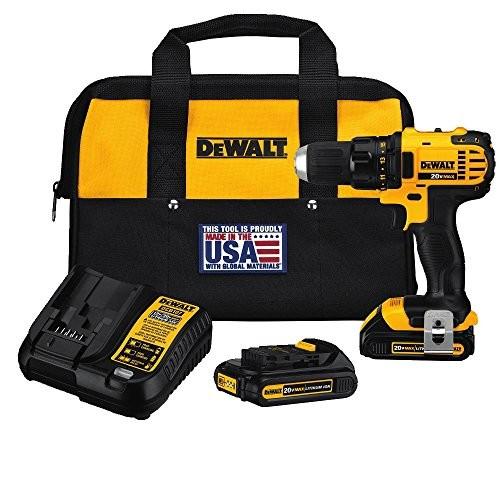 DEWALT DCD780C2 20-Volt Max Li-Ion Compact 1.5 Ah Drill/Contractor bag [Drill/driver]