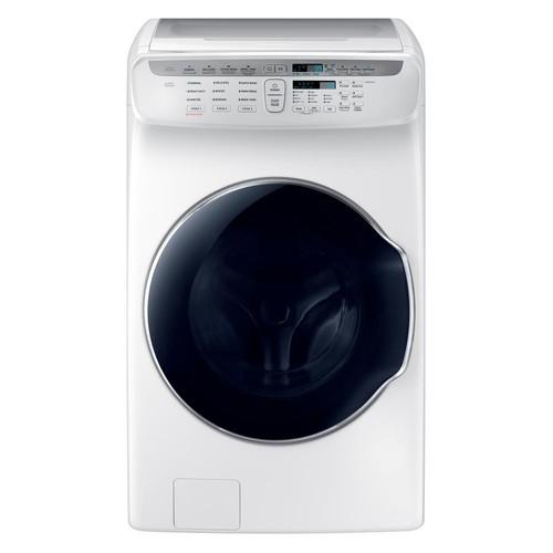Samsung 5.5 Total cu. ft. High-Efficiency FlexWash Washer in White