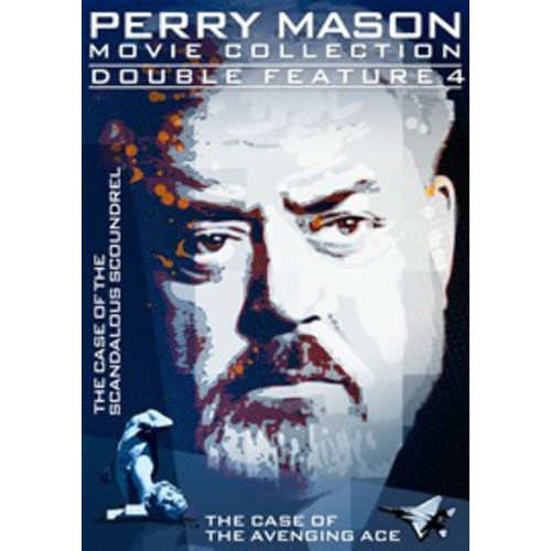Perry Mason Double Feature: The Case Of The Scandalous Scoundrel / The Case Of The Avenging Ace (Full Frame)