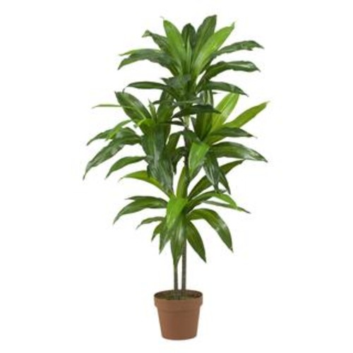 Nearly Natural Artificial Plants 4-foot Kentia Palm Silk Tree