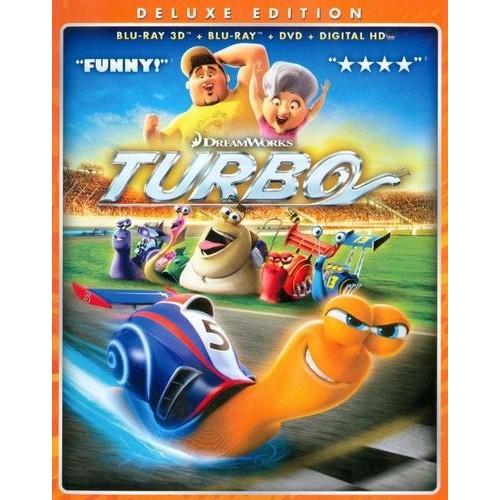 Turbo (Blu-ray + Blu-ray + DVD + Digital Copy)