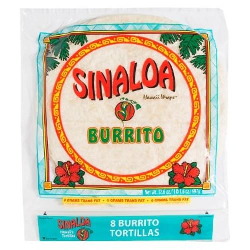 Sinaloa Hawaii Wraps Burrito Tortillas 17.6 oz