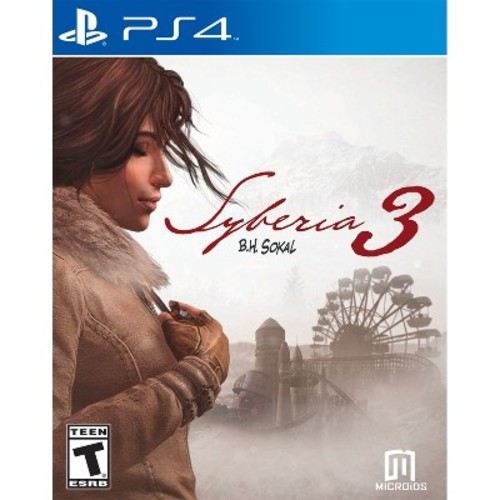 Syberia 3 PRE-OWNED - PlayStation 4