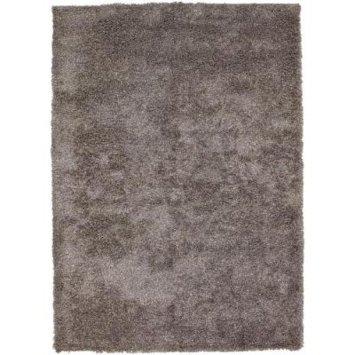 Chandra Barun Grey/Ivory/Charcoal 5 ft. x 7 ft. 6 in. Indoor Area Rug