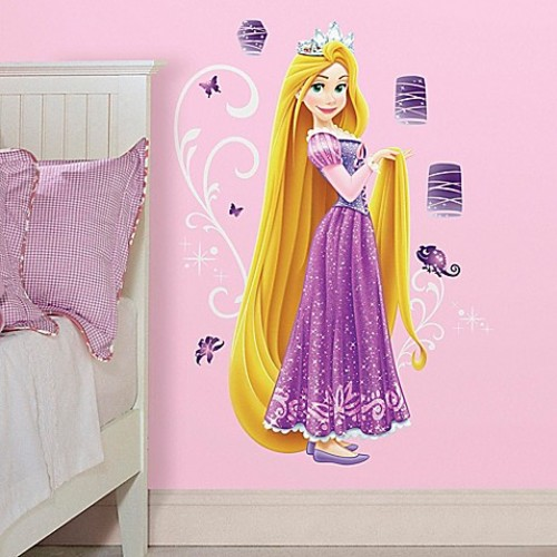 Disney Princess Rapunzel Giant Peel and Stick Wall Decals