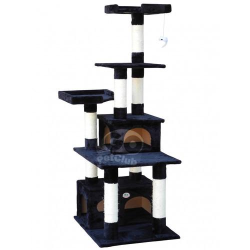 Go Pet Club Cat Condo, 67-Inch, Beige