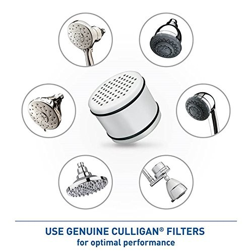 Culligan Certified WHR-140 Replacement Filter Cartridge for Culligan Filtered Shower Heads
