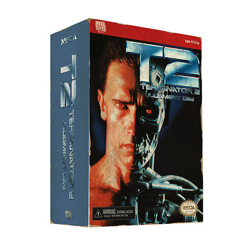 NECA - Terminator 2 - 7 inch Action Figure - T-800 (Video Game Appearance)