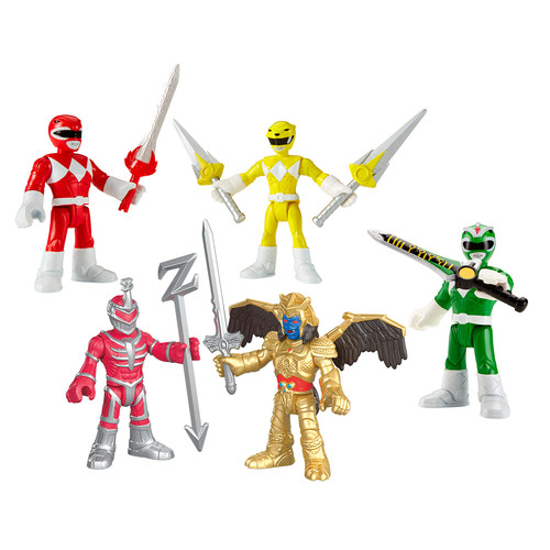 Imaginext Power Rangers Battle Pack 2 - Good vs. Bad