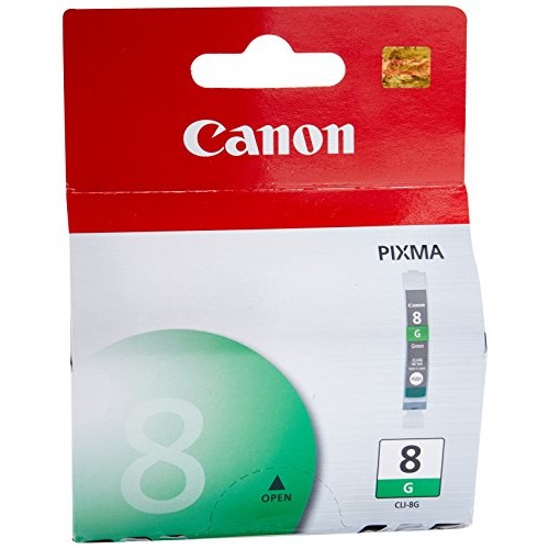 CANON green color ink cartridge (#cli-8): Office Products