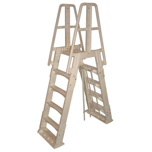 Vinyl Works A-Frame Above Ground Pool Ladder
