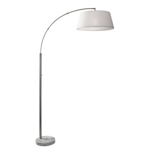 Adesso Thompson Arc Floor Lamp, 82