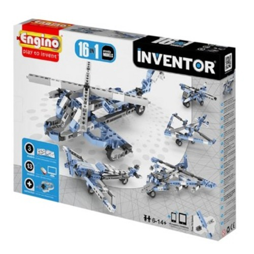Engino Inventor Build 12 Models Aircrafts Construction Kit