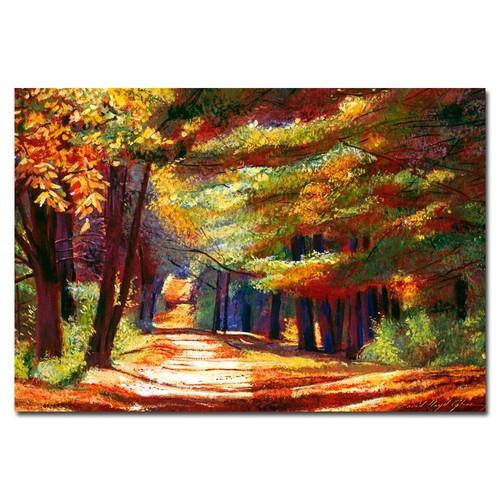Trademark Global David Lloyd Glover 'September Song' Canvas Art [Overall Dimensions : 16x24]