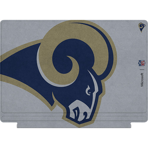 Microsoft - Surface Pro 4 Special Edition NFL Type Cover - Los Angeles Rams