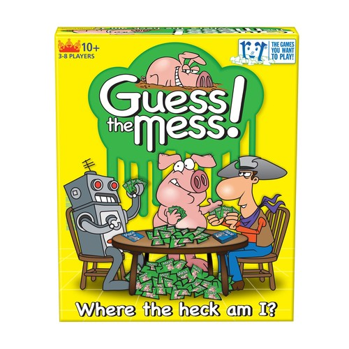 R & R Games R and R Games Guess The Mess