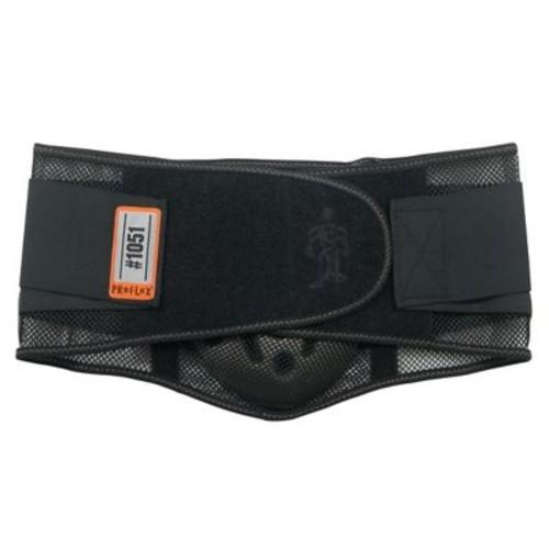 Ergodyne ProFlex 1051 Mesh Back Support With Lumbar Pad, Black, XL