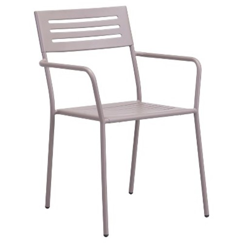 Zuo Wald Dining Arm Chair - Taupe