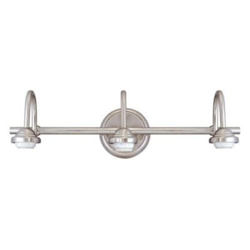 Westinghouse 3-Light Brushed Nickel Wall Fixture