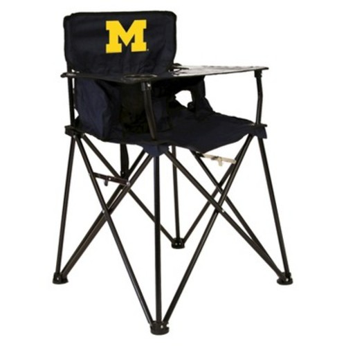 ciao! baby University of Michigan Portable Highchair in Dark Blue