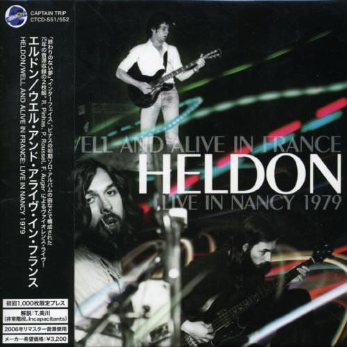 Well & Alive in France: Live in Nancy 1979 [CD]