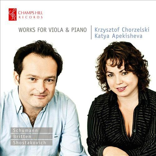 Works For Viola & Piano - CD
