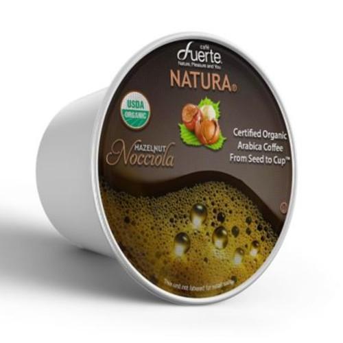 FUERTENocciola, K-Cup Compatible Pod, Hazelnut, USDA Organic Arabica Coffee, 18/PK. (KCC-8170)