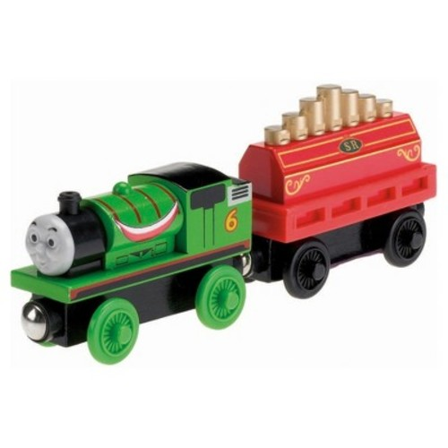Fisher-Price Thomas and Friends Wooden Railway Percy's Musical Ride