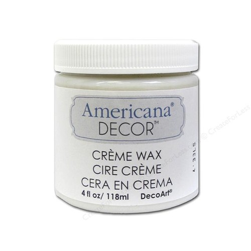 Decoart Americana Decor Creme Wax 4oz Clear