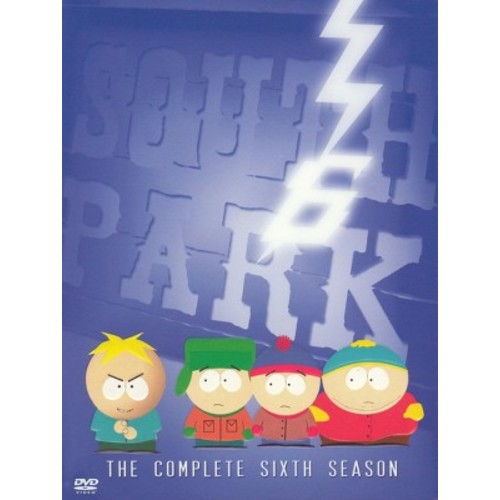 South Park: The Complete Sixth Season (3 Discs) (dvd_video)
