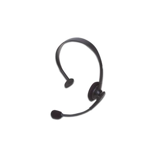 Cyber Acoustics AC-100B Monaural Headset Over-the-head - Black