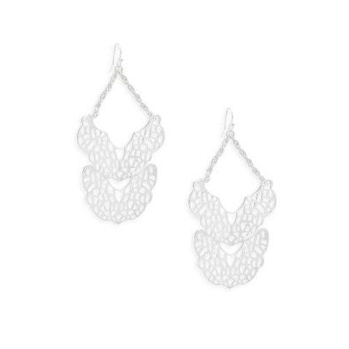 Saks Fifth Avenue - Filigree StatementDrop Earrings