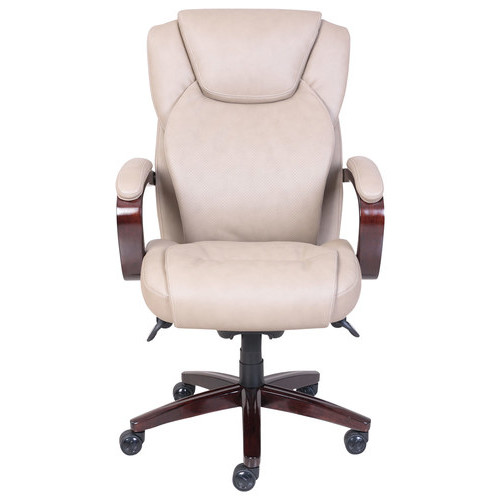 La-Z Boy - Air Bonded Leather Executive Chair - Taupe