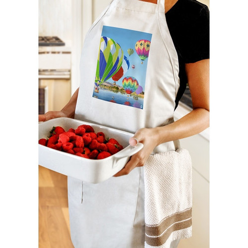 Hot Air Balloons - LP Artwork (Cotton/Polyester Chef's Apron)