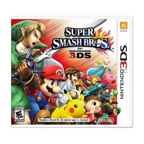 Super SmashBros - Nintendo 3DS - Email Delivery